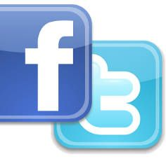 Using Twitter and Facebook for #Etsy.    #Etsy #Marketing with #Facebook and #Twitter