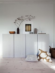 Home Decorating Ideas Modern Living room sideboard cabinet storage Ikea Ivar Hack lacquered light gray white deco . - Wohnzimmer Sideboard Schrank Stauraum Ikea Ivar Hack lackiert hellgrau weiß Dek… Home Decorating - # Armoire Buffet, Sideboard Cabinet, Ikea Ivar Cabinet, Buffet Ikea, Ikea Living Room, Living Room Cabinets, Living Rooms, Diy Cabinets, Storage Cabinets