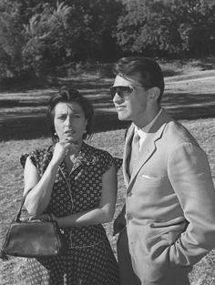 Anna Magnani/Walter Chiari in Bellissima (1951)