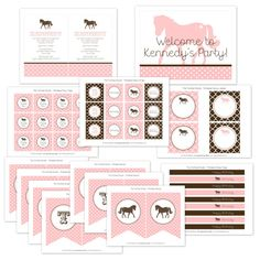Pony Party Printable Collection | The TomKat Studio