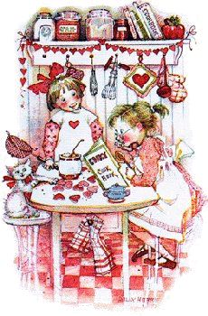 Holly Hobbie - Valentine cookies