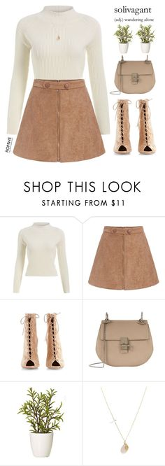 """solivagant"" by mihreta-m ❤ liked on Polyvore featuring Gianvito Rossi, Chloé, GANT and ASOS"