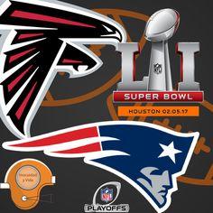 #Agenda este 5 de Febrero el #SuperBowl desde #Houston TX 🇺🇸 @Patriots  @AtlantaFalcons  se espera un juego muy interesante de dos grandes equipos