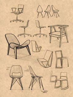 SKETCHES MUEBLES,  #furnituresketch #MUEBLES #SKETCHES