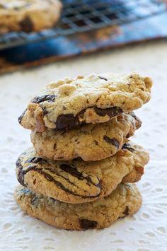 Gluten Free Chocolate Tahini Cookies