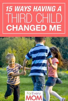 So funny and so true! 15 ways I slacked off as a mom when I had my third child. HA!