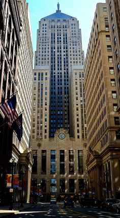 Board of Trade, Chicago, Illinois (Chicago's tallest building from 1930 until 1965)
