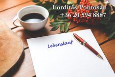 Profi német önéletrajz Tableware, Resume Cv, Dinnerware, Tablewares, Place Settings