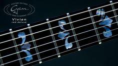 Cyan Guitars Vivien Red Deluxe