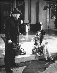 Joan Bennet and Edward G. Robinson in Scarlet Street. Directed by Fritz Lang Edward G Robinson, Ronald Colman, Joan Bennett, Fritz Lang, Cinema, Orson Welles, Tough Guy, Vintage Hollywood, Stars