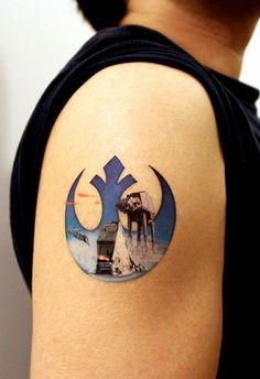 Image result for star wars shoulder tattoo
