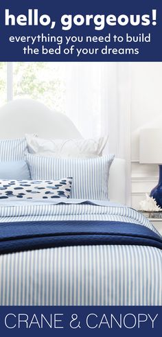 From chic bedding and beautiful statement duvet covers, find gorgeous bedding to build the bedroom of your dreams. Named the best site for bedding by HGTV.