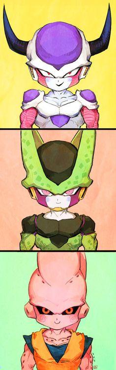 Dragon Ball Z | DBZ | Freezer | Frieza | Cell | Majin Buu | Anime