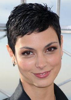 Black Super Short Hairstyle for Women The Super Short Hairstyles