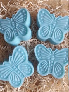 Fresh Linen Highly Scented Butterfly Chunky Eco by FaeryLightsuk