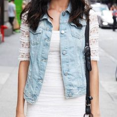 Brandy Melville Jean Denim Vest Perfect, slightly distressed jean vest from Brandy Melville. Wear it over dresses in spring or layer with jackets in colder weather! In new condition. Brandy Melville Jackets & Coats Vests