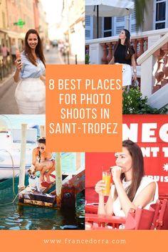 8 best places for photo shoots in Saint-Tropez