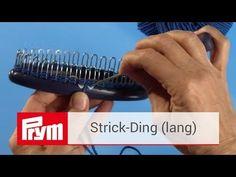 Das Prym Strick-Ding | Strick-Tutorial mit der Strickhilfe von Prym - YouTube