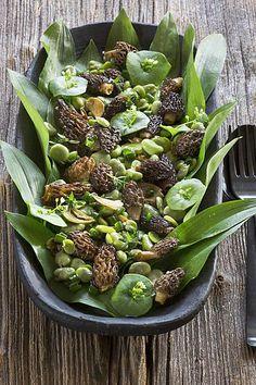 morieljes tuinbonen salade