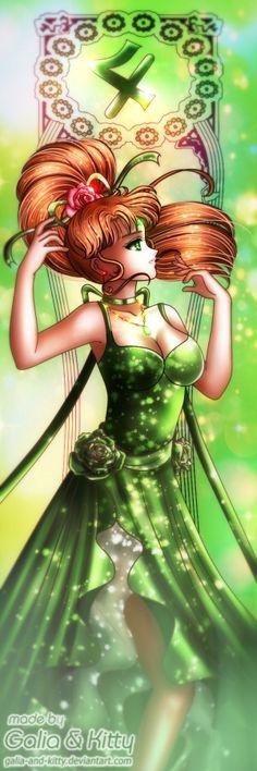 Sailor Royalty: Princess Jupiter by galia-and-kitty.deviantart.com on @DeviantArt