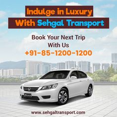 #Book our #NextTrip wih us !! #SehgalTransportService Contact : +91-85-1200-1200 goo.gl/6sOGxG