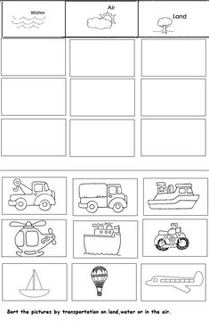 Transport unit worksheet for kindergarten Handicrafts and worksheets for .Transport unit worksheet for kindergarten Handicrafts and worksheets for ., worksheet worksheets crafts f Latest Pic Auto Crafts for Kids Style Searching for Comfort Institution Pre K Worksheets, Preschool Learning, Kindergarten Worksheets, Alphabet Worksheets, Transportation Preschool Activities, Transportation Worksheet, Kindergarten Crafts, Preschool Crafts, Kids Crafts