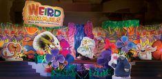 Weird Animals VBS Decorating Ideas | quick decorating places overview video complete decorating walk ...