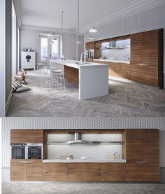 Analizaremos los parámetros para diseñar una moderna cocina, entre los que destacan el aspecto funcional, el uso de materiales, la forma así como el empleo del color y la luz natural; descubre a co…