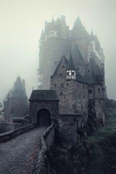 """Eltz Castle - Germany """" The Dark Stronghold by Kilian Schönberger"""