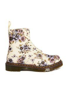 Dr Martens | Dr Martens Core Beckett Beige Wild Rose 8-Eye Boots at ASOS