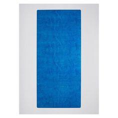Blue table, top view. #diningtable #minimaldesign #minimalism #designtable #dutchdesign #dutchdesignweek #minimaltable #bluewood #swimmingpoolblue #sominimal #steelandwood #tabledesign #table Blue Wood, Minimal Design, Top View, Minimalism, Swimming Pools, Dining Table, Van, Rugs, Beautiful