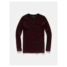 T-shirt, Stripe longsleeve tee - The Sting