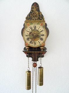 Dutch Warmink Friesian Wall Clock Schippertje Dutch