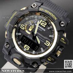 Casio G-Shock MUDMASTER Triple Sensor Solar Multiband 6 Watch GWG-1000-1A, GWG1000