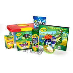 Alternative Easter Gifts-Crayola Creative Art Supply 70 Accessory Set for Boys