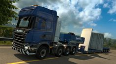 Euro Truck Simulator 2 - Heavy Cargo Pack no Steam
