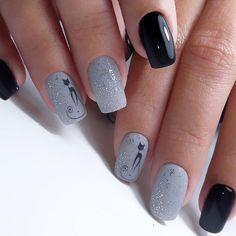 Winter Nails Designs - My Cool Nail Designs Latest Nail Designs, Cool Nail Designs, American Nails, Cat Nails, Instagram Nails, Nagel Gel, Super Nails, Beautiful Nail Art, Nail Trends