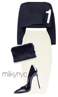 """""""Untitled #677"""" by mizzbehave on Polyvore featuring River Island, Casadei and Coast"""