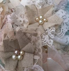 Set of 48 Vintage Style Wedding by RhysandRaesCreations on Etsy