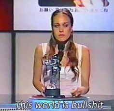 Truth nuggets. Fiona Apple is such a badass.