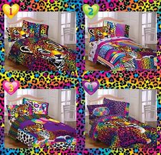 Lisa frank bed set