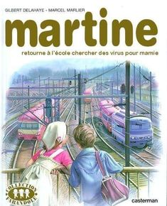 """Top 30 diversions of """"Martine"""", the parody that never ages Marcel, Pokemon, Funny Memes, Hilarious, Image Fun, Poster S, Comic, Funny Picture Quotes, Alter"""