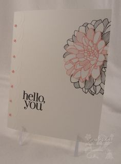 WT431 Hello, Dahlia by chanteuse - Cards and Paper Crafts at Splitcoaststampers
