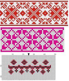 Folk Embroidery, Embroidery Patterns, Byzantine, Bulgaria, Croatia, Folk Art, Cross Stitch, Arts And Crafts, Ornaments