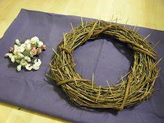 La Corona de Espinas actividad para niños como preparación para la pascua