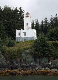 Sentinel Island Lighthouse, Alaska at Lighthousefriends.com