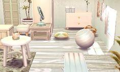 Animal Crossing Qr, Animal Crossing Pocket Camp, Spa Rooms, House Rooms, Animal Games, My Animal, Leaf Animals, Happy Home Designer, New Leaf