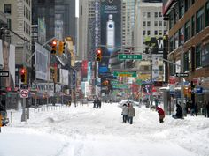 If enough tiny snowflakes can bring a giant city such as NYC to a standstill, just think what millions of people could do if they united behind one cause.