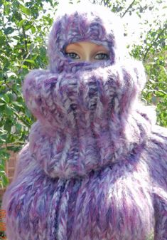 Mohair Yarn, Mohair Sweater, Catsuit, Balaclava, Sweater Outfits, Hand Knitting, Overalls, Turtle Neck, Wool