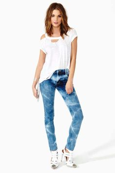 Cheap Monday Cloud Chaser Skinny Jeans